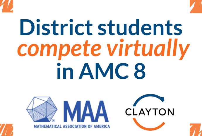 Students Participate Virtually in AMC 8 Competition