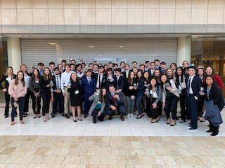 CHS Students Represent the District at DECA Competition