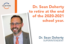 Dr. Sean Doherty Announces Retirement