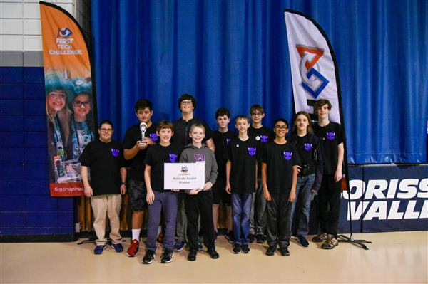 WMS Robotics Team Advances to State Championship
