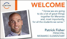 Patrick Fisher Appointed Meramec Principal