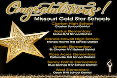 Clayton High School Named a 2020 Missouri Gold Star School
