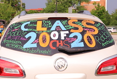 CHS Senior Parade for Class of 2020 an Event to Remember