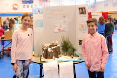 Fifth Graders Showcase their Learning with Pop-Up History Museum