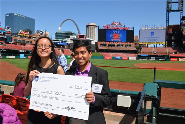 Juniors Take Second in Angels in the Outfield Entrepreneurship Contest