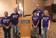 WMS Students and Staff lead workshop at 2019 MSCA Fall Conference