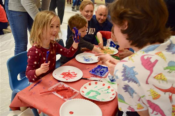The Family Center Holds Annual Messy Play Day