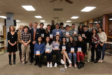 National Merit Scholars Honored at Board of Education Meeting