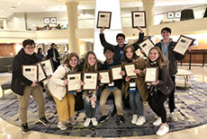 CHS Students Bring Home Awards from the Fall NSPA National High School Journalism Convention