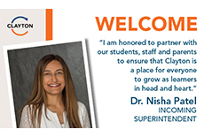 Dr. Nisha Patel Selected to Be Next Superintendent