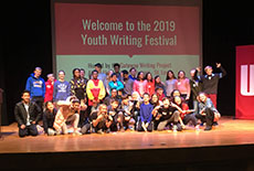 WMS Students Write History at the 2019 Youth Writing Festival