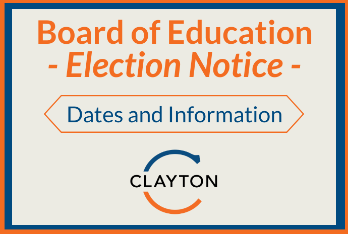 2021 Board of Education Election Notice