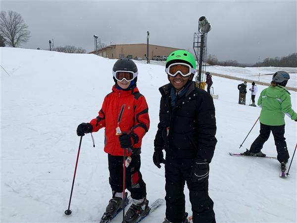 Fifth Graders Spend a Day of Learning on the Slopes